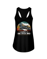 Train Lovers Gifts - I Have One Track Mind Ladies Flowy Tank thumbnail
