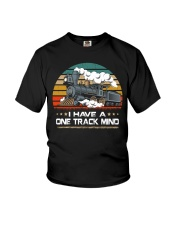 Train Lovers Gifts - I Have One Track Mind Youth T-Shirt thumbnail