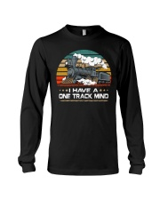 Train Lovers Gifts - I Have One Track Mind Long Sleeve Tee thumbnail