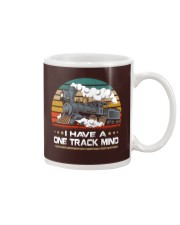 Train Lovers Gifts - I Have One Track Mind Mug thumbnail