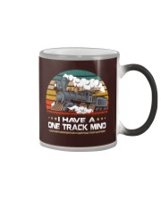 Train Lovers Gifts - I Have One Track Mind Color Changing Mug thumbnail