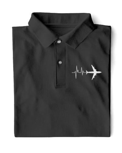 PILOT GIFT - HEARTBEAT POLO
