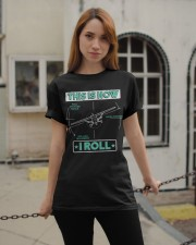 PILOT GIFT - THIS IS HOW I ROLL Classic T-Shirt apparel-classic-tshirt-lifestyle-19