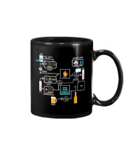 BREWERY CLOTHING - BEER BREWING SCHEMATIC Mug thumbnail