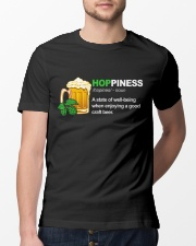 CRAFT BEER BREWERY HOPPINESS Classic T-Shirt lifestyle-mens-crewneck-front-13