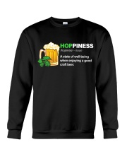 CRAFT BEER BREWERY HOPPINESS Crewneck Sweatshirt thumbnail