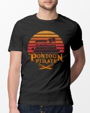 PONTOON LOVER - PONTOON PIRATE Classic T-Shirt lifestyle-mens-crewneck-front-13
