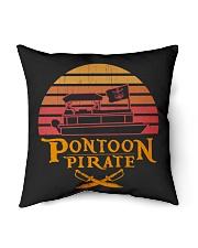 """PONTOON LOVER - PONTOON PIRATE Indoor Pillow - 16"""" x 16"""" thumbnail"""
