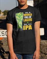 BREWERY CLOTHING - BE AN IPA Classic T-Shirt apparel-classic-tshirt-lifestyle-29