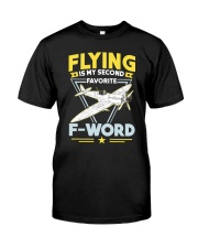 AVIATION RELATED GIFT - MY FAVOURITE Classic T-Shirt front