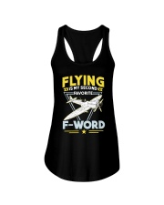AVIATION RELATED GIFT - MY FAVOURITE Ladies Flowy Tank thumbnail