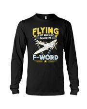 AVIATION RELATED GIFT - MY FAVOURITE Long Sleeve Tee thumbnail