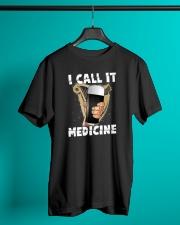 B - CALL IT MEDICINE Classic T-Shirt lifestyle-mens-crewneck-front-3