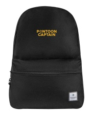 PONTOON BOAT GIFT - PONTOON CAPTAIN DEFINITION Backpack thumbnail