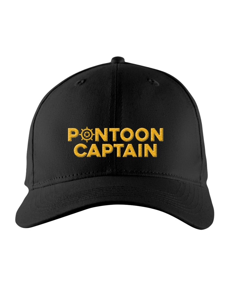 PONTOON BOAT GIFT - PONTOON CAPTAIN DEFINITION Embroidered Hat