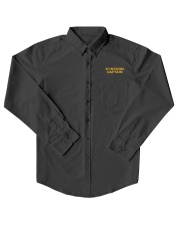 PONTOON BOAT GIFT - PONTOON CAPTAIN DEFINITION Dress Shirt thumbnail