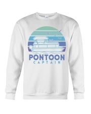 PONTOON BOAT GIFT - PONTOON CAPTAIN 4 Crewneck Sweatshirt thumbnail