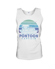 PONTOON BOAT GIFT - PONTOON CAPTAIN 4 Unisex Tank thumbnail