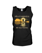 RETRO BEER - HELLO DARKNESS MY OLD FRIEND Unisex Tank thumbnail
