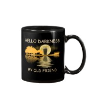 RETRO BEER - HELLO DARKNESS MY OLD FRIEND Mug tile