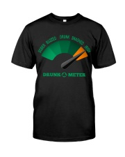 TRULY DRINK - DRUNK METER  Classic T-Shirt front