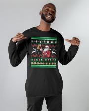 B - SANTA Long Sleeve Tee apparel-long-sleeve-tee-lifestyle-front-12