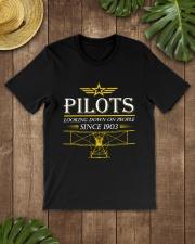 PILOT GIFTS - PILOT SINCE 1903 Classic T-Shirt lifestyle-mens-crewneck-front-18