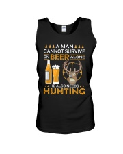 RETRO BEER - BEER AND HUNTING Unisex Tank thumbnail
