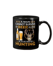 RETRO BEER - BEER AND HUNTING Mug thumbnail