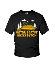 PONTOON BOAT GIFT Youth T-Shirt tile