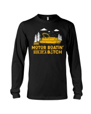 PONTOON BOAT GIFT Long Sleeve Tee thumbnail