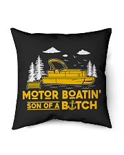 "PONTOON BOAT GIFT Indoor Pillow - 16"" x 16"" thumbnail"