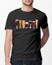 BEER BREWERY TYPES BEER SHOP Classic T-Shirt lifestyle-mens-crewneck-front-13