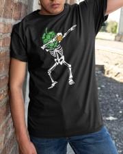 SKULL DABBING Classic T-Shirt apparel-classic-tshirt-lifestyle-27