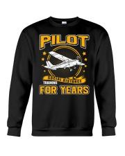 PILOT GIFTS - SOCIAL DISTANCE TRAINING FOR YEARS Crewneck Sweatshirt thumbnail