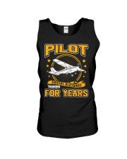 PILOT GIFTS - SOCIAL DISTANCE TRAINING FOR YEARS Unisex Tank thumbnail