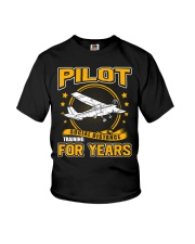 PILOT GIFTS - SOCIAL DISTANCE TRAINING FOR YEARS Youth T-Shirt thumbnail