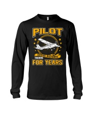 PILOT GIFTS - SOCIAL DISTANCE TRAINING FOR YEARS Long Sleeve Tee thumbnail