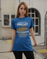 PONTOON BOAT GIFTS - WEEKEND FORECAST Classic T-Shirt apparel-classic-tshirt-lifestyle-19