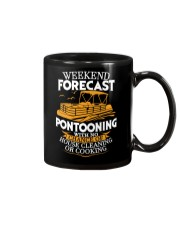 PONTOON BOAT GIFTS - WEEKEND FORECAST Mug thumbnail