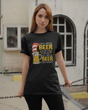 BEER ME- DRINK EVERYWHERE Classic T-Shirt apparel-classic-tshirt-lifestyle-19