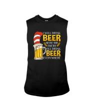 BEER ME- DRINK EVERYWHERE Sleeveless Tee thumbnail