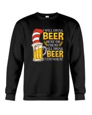 BEER ME- DRINK EVERYWHERE Crewneck Sweatshirt thumbnail