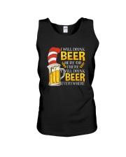 BEER ME- DRINK EVERYWHERE Unisex Tank thumbnail