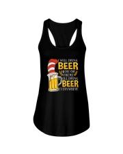 BEER ME- DRINK EVERYWHERE Ladies Flowy Tank thumbnail