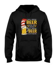 BEER ME- DRINK EVERYWHERE Hooded Sweatshirt thumbnail