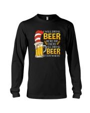 BEER ME- DRINK EVERYWHERE Long Sleeve Tee thumbnail