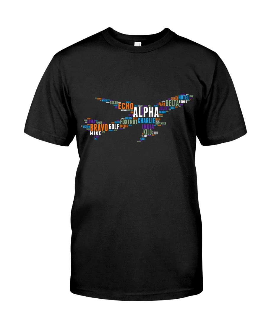 AVIATION RELATED GIFTS - PILOT WORD ART Classic T-Shirt