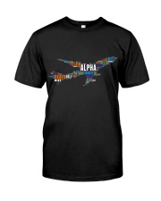 AVIATION RELATED GIFTS - PILOT WORD ART Classic T-Shirt front