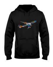 AVIATION RELATED GIFTS - PILOT WORD ART Hooded Sweatshirt thumbnail